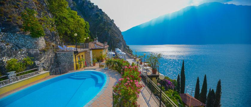 Hotel Villa Dirce, Limone, Lake Garda, Italy - Outdoor pool over-looking lake.jpg